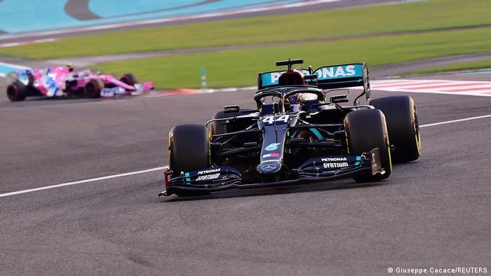 Formel 1 GP Abu Dhabi  Lewis Hamilton, Mercedes