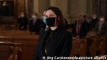 Deutschland I Oppositionpolitikerin Swetlana Tichanowskaja I Ökumenisches Gebet für Belarus
