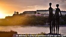 Serbien Denkmal Novi Sad