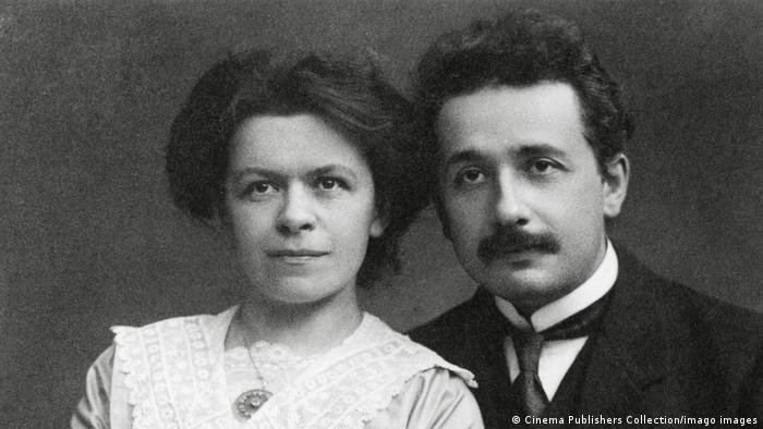 Милева Марич и Алберт Айнщайн