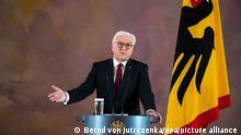 Deutschland Coronavirus Ansprache Bundespräsident Steinmeier