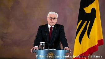 Almanya Cumhurbaşkanı Frank-Walter Steinmeier