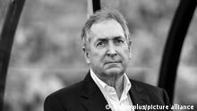 07.01.2016. ANZ Stadium, Sydney, Australia. Exhibition Match. Liverpool Legends versus Australian Legends. Liverpool Legend coach Gerard Houllier.