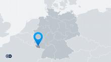 Karte Deutschland Bundesland Saarland