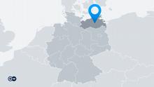 Karte Deutschland Bundesland Mecklenburg-Vorpommern