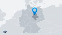 Karte Deutschland Bundesland Sachsen-Anhalt