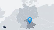 Karte Deutschland Bundesland Bayern