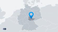 Karte Deutschland Bundesland Thüringen