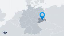 Karte Deutschland Bundesland Sachsen