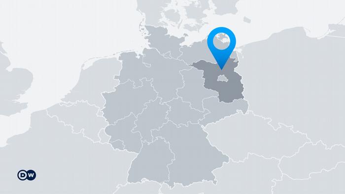 Karte Deutschland Bundesland Brandenburg