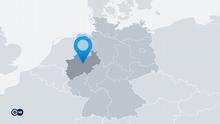 Karte Deutschland Bundesland Nordrhein-Westfalen