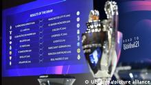 Schweiz Nyon | Champions League | Auslosung Achtelfinale
