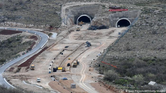Montenegro Autobahnbau mit chinesischer Unterstützung