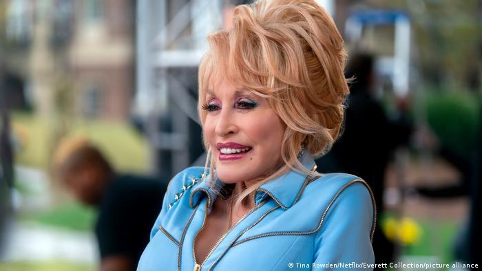 Die Sängerin Dolly Parton