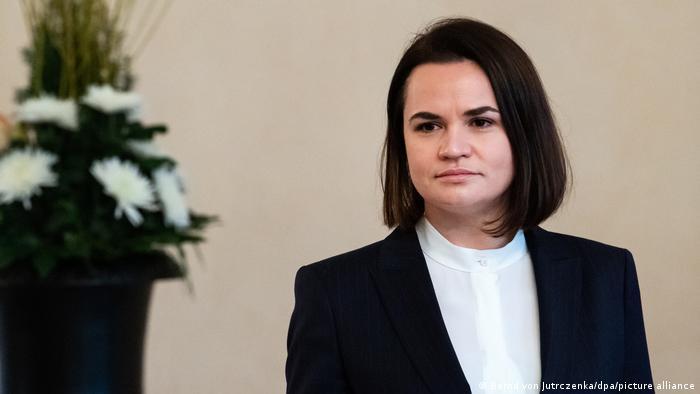 Лидер белорусской оппозиции Светлана Тихановская