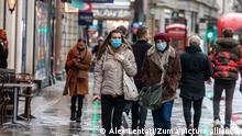 Großbritannien London | Coronakrise