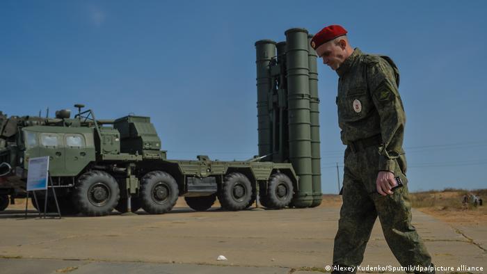 Система С-400 в Астраханской области РФ