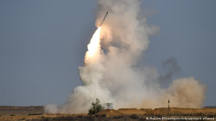 Russland Raketenabwehr-System S-400