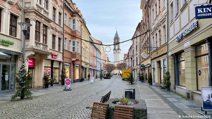 The German town of Bautzen during the lockdown