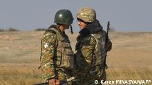 Berg-Karabach | Soldaten aus Armenien