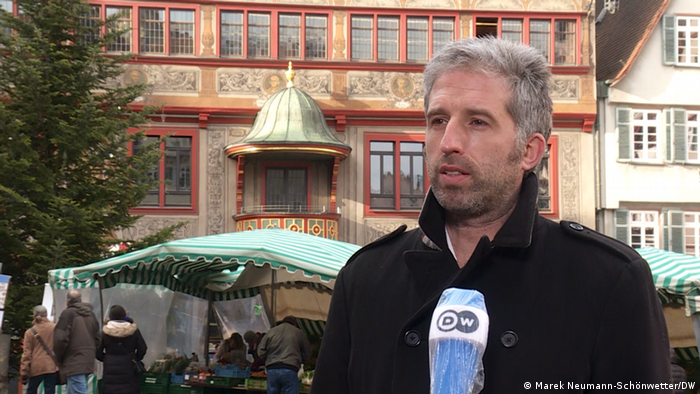 Themenbilder | Tübingen und Corona: Boris Palmer, Oberbürgermeister Tübingen