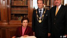 Internationaler Demokratiepreis Bonn Shirin Ebadi