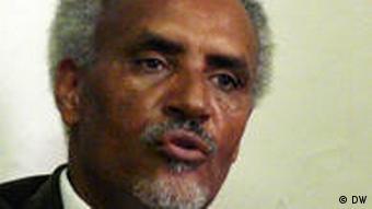 Professor Beyene Petros derzeitiger Vorsitzender des Oppositionsbündnisses Medrek