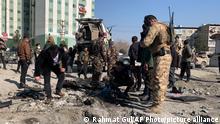 Afghanistan Anschlag in Kabul