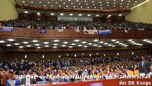 Rede des kongolesischen Präsidenten Félix Tshisekedi am Dienstag, den 14. Dezember 2020 in Kinshasa. Copyright: Presse- und Kommunikationsdienst der Kongo-Präsidentschaft.