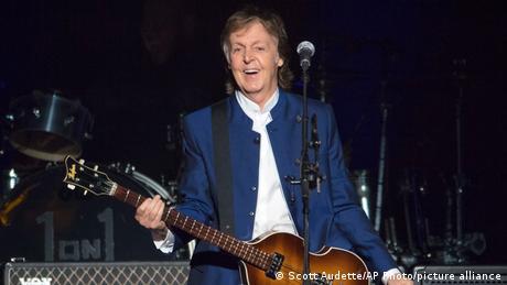 Ex-Beatle Paul McCartney auf der Bühne