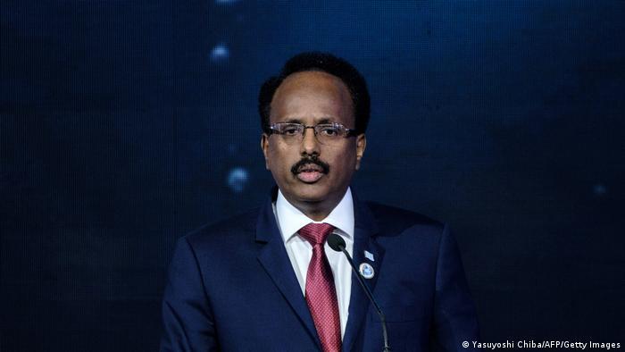 Kenia Nairobi | Präsident Somalia | Mohamed Abdullahi Mohamed