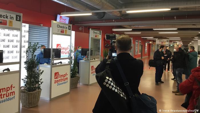 Deutschland Düsseldorf | Impfzentrum