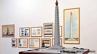 Österreich Kunst Ausstellung MAK Blumen für Kim Il Sung