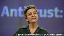 Margrethe Vestager, comissária da UE para Competição
