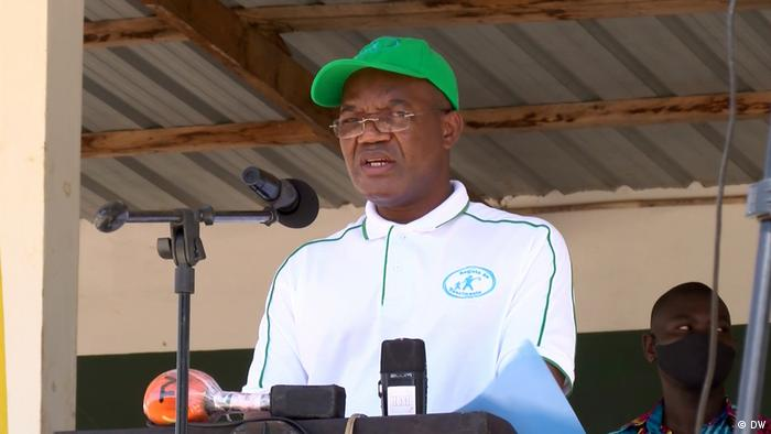 Armindo Ngunga I Provinzstaatssekretär in Cabo Delgado