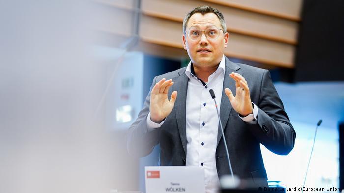 Tiemo Wölken, membro do Parlamento Europeu pelo SDP alemão