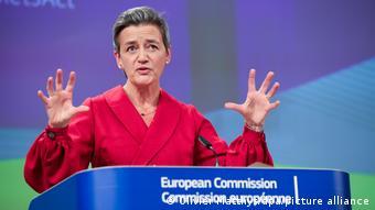 Komisyonun rekabetten sorumlu üyesi Margrethe Vestager