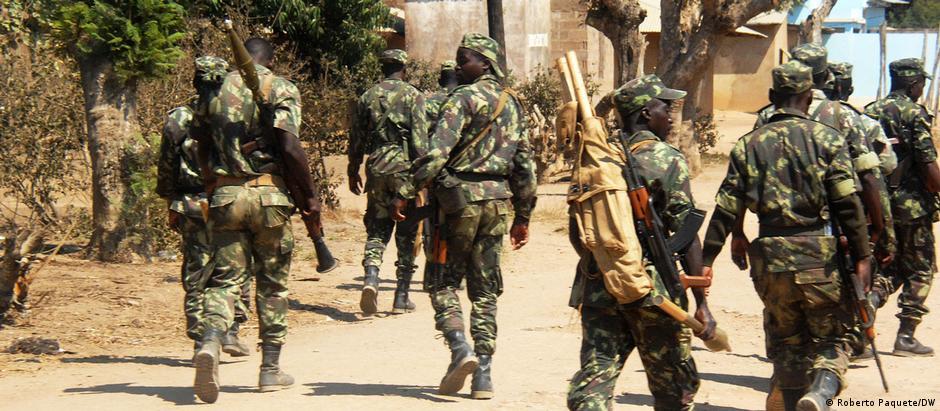 Soldados moçambicanos em Cabo Delgado (Foto ilustrativa)