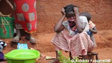 Mosambik | Provinz Nampula | Vertriebene Kinder Opfer von Terrorismus