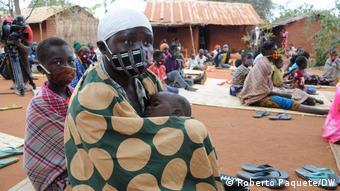 Mosambik   Provinz Nampula   Vertriebene Kinder Opfer von Terrorismus