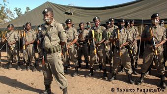 Mosambik   Palma Cabo Delgado   Kommando Spezialkräfte