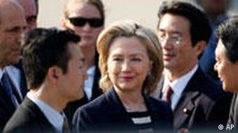 Hillary Rodham Clinton in Japan Asien USA