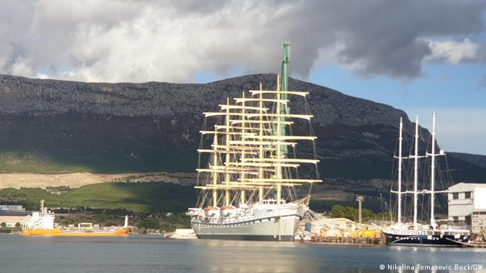 Golden Horizon, trenutno najveći izgrađeni jedrenjak na svijetu dužine 162 metra
