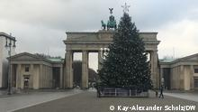 Lockdown in Berlin | Tristesse am Brandenburger Tor