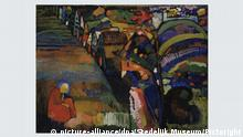 Kandinsky's 'Painting With Houses'