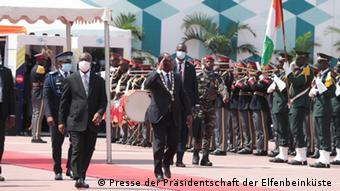Elfenbeinküste Amtseinführung des Präsidenten Alassane Ouattara