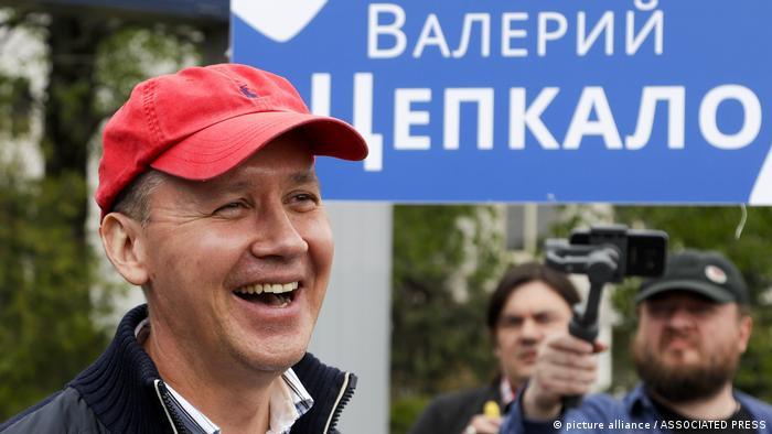 Valery Tsepkalo, doctor en Derecho y opositor bielorruso.