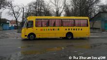 Ukraine I Schulbus in Maximowotschi