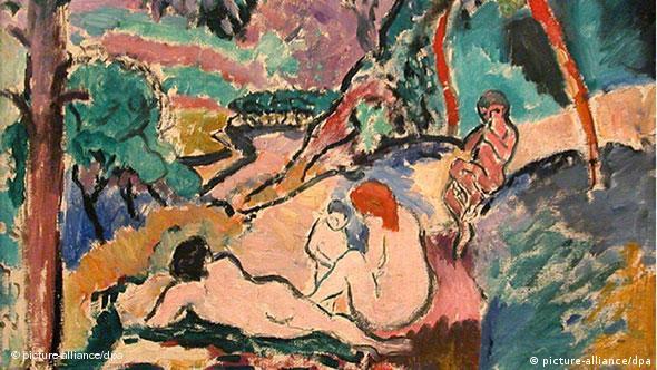 Kunstraub Museum of Modern Art in Paris Frankreich Henri Matisse's La Pastorale Flash-Galerie