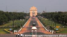 Indien | zeremonieller Boulevard Rajpath in Neu-Delhi